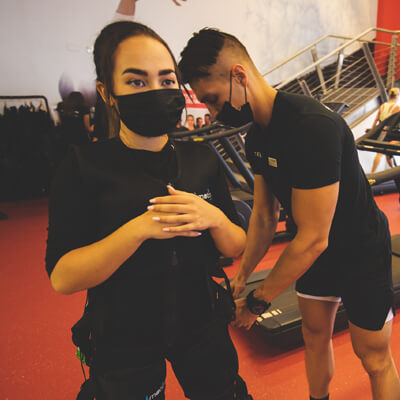 Certified EMS personal-trainers in Dubai